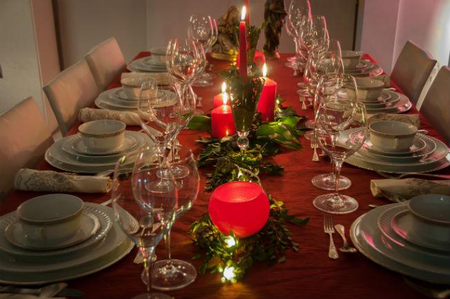 Inspiraci n para decorar tus mesas de navidad bulevar sur - Decoracion de navidad para mesas ...