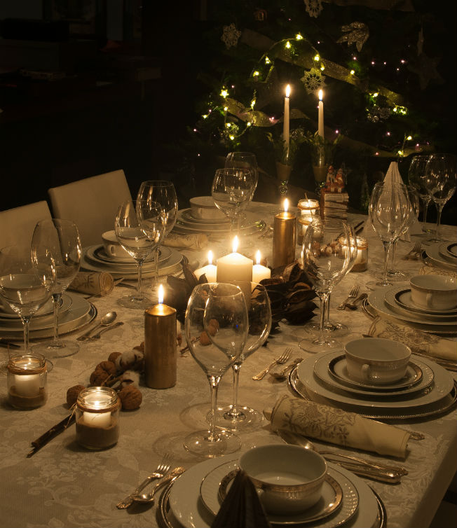 Inspiracion Para Decorar Tus Mesas De Navidad Bulevar Sur - Decoracion-para-mesa-navidea