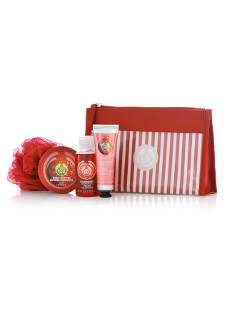 Pack de fresa de The Body Shop