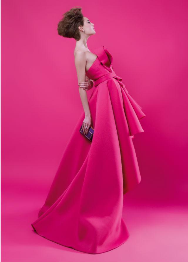 Roberto Diz imagina una Navidad en rosa Barbie. Máximo Arroyo