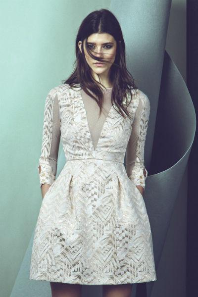 Vestido color blanco para nochevieja
