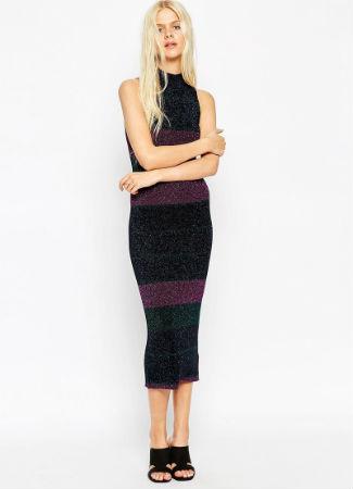Vestido de rayas de Asos