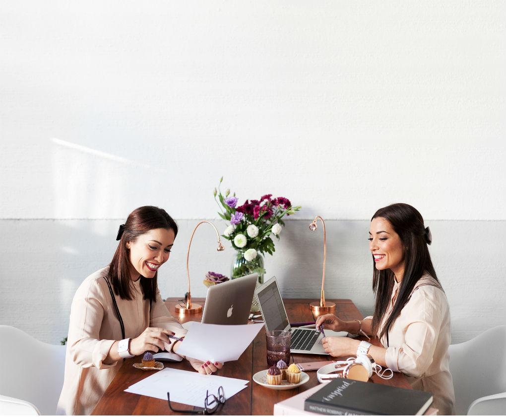 Lidia y Patricia, las wedding planners de Wedings with love. Melon Blanc
