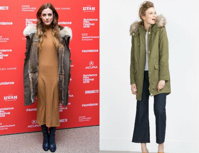 Zara abrigos y parkas