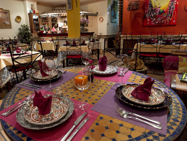 Restaurantes de Sevilla: Al Medina