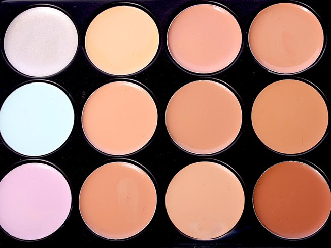 correctores de maquillaje colores