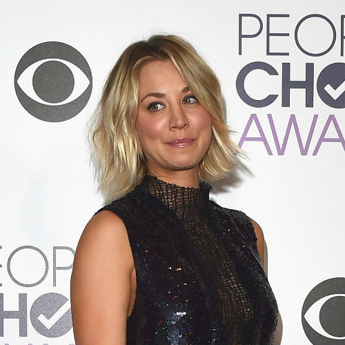 Kaley Cuoco. AFP