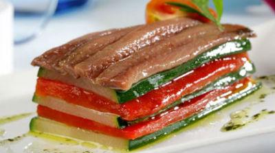 milhojas-verduras-anchoas