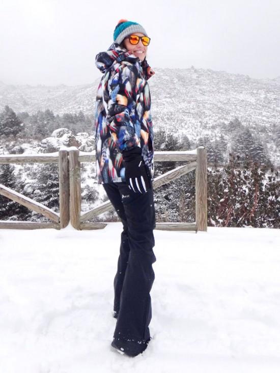 Paula Echevarría en la nieve. Blog