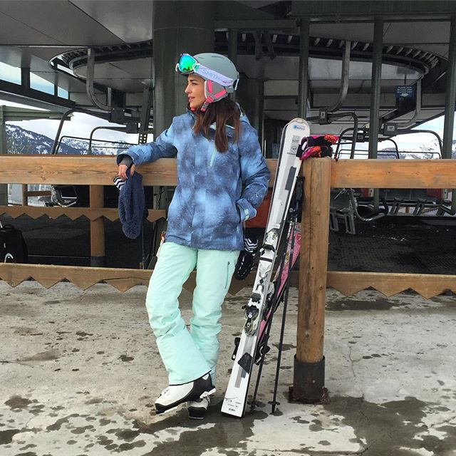 Paula Echevarría en la nieve. Instagram