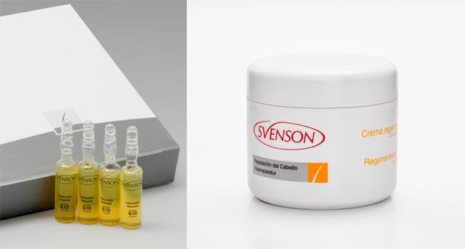 Ampollas de Q10 y crema regeneradora de Svenson