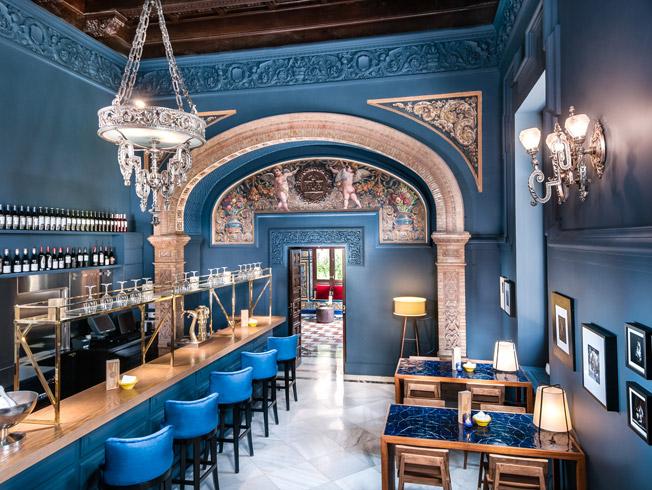 Restaurantes de Sevilla: Ena by Carles Abellán (Hotel Alfonso XIII)