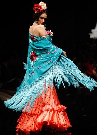 Mantón de Manila en Flamencas