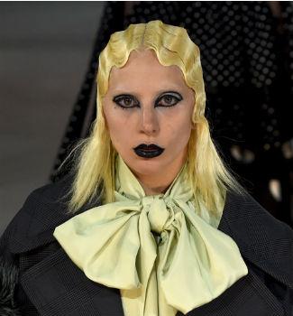 Desfile de Marc Jacobs con Lady Gaga en Nueva York. AFP