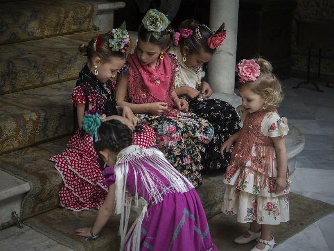moda infantil flamenca