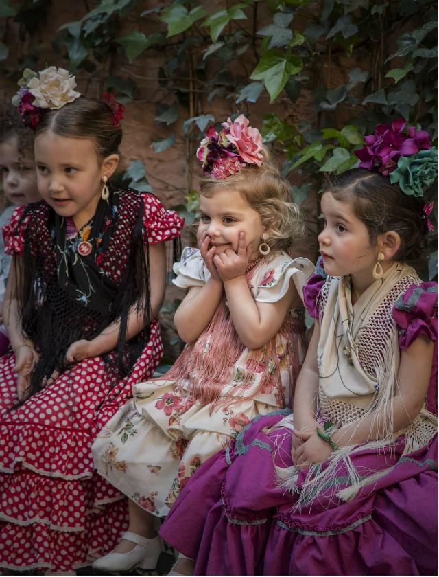 950461b2e Cómo visto este año de flamenca a las niñas  - Bulevar Sur