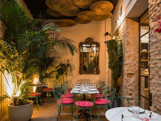 Restaurante Torres y García en Sevilla. Lucila Vidal-Aragón