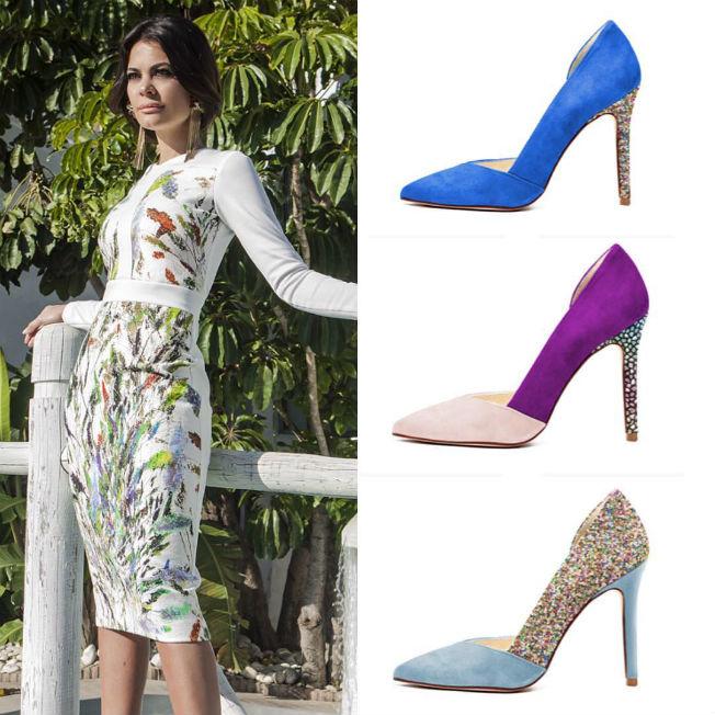 Colección de zapatos de María José Suárez con Uniqshoes para la primavera  verano 2016 11ce53426fa0