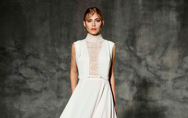 Vestidos de novia escotados en la espalda