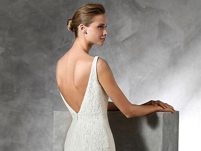 elegir peinado segn el vestido de novia