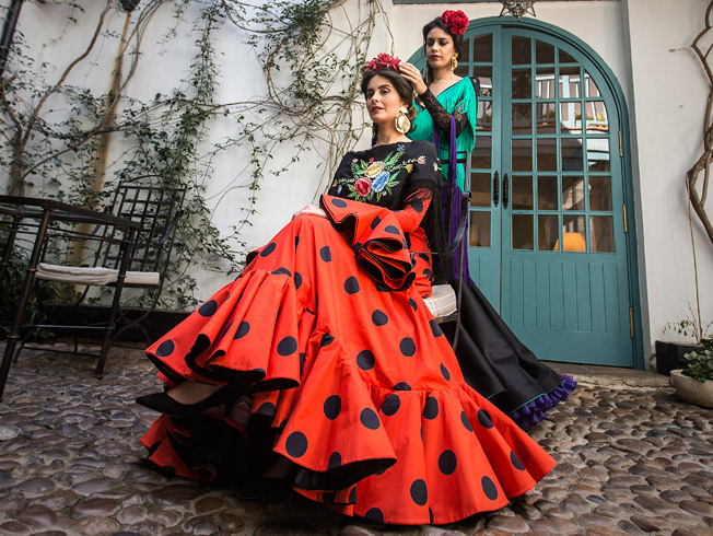 Flamencas clásicas y modernas para la Feria de Abril 2016