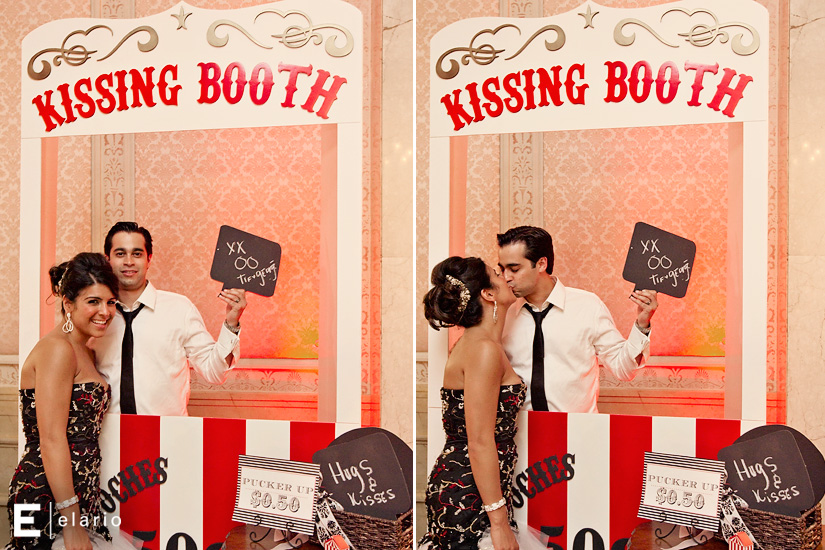 Kissing booth boda