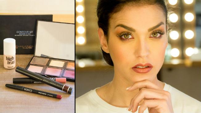 Maquillaje para una novia sofisticada de Espacio Líbero. Laura Álvarez