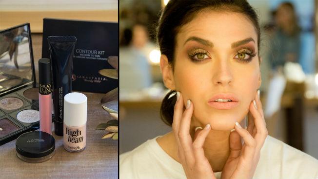 Tercera propuesta de maquillaje, más atrevido, para novias de Espacio Líbero. Laura Álvarez