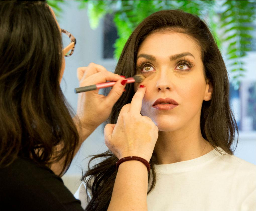 Paso a paso de un maquillaje para novias más sofisticadas de Espacio Líbero. Laura Álvarez