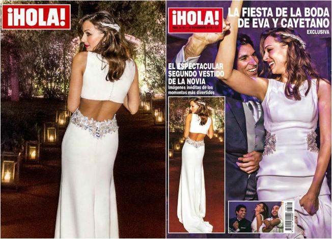Consigue los trajes de novia de Eva González - Bulevar Sur