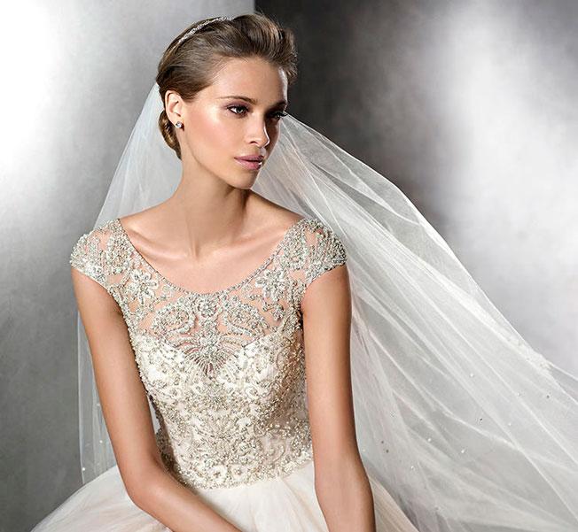 elegir peinado según el vestido de novia - bulevar sur
