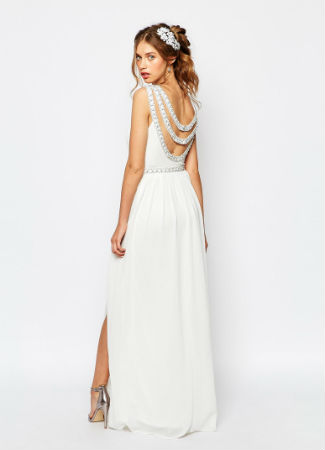 Vestido de novia low cost de TFNC