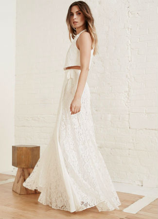 Vestido de novia de Reformation