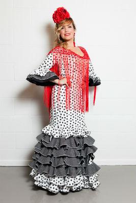 Traje de flamenca de Asunción Salguero