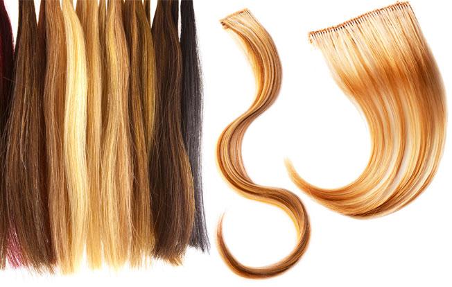 Extensiones para novias o madrinas con poco pelo