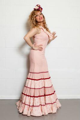 Traje de flamenca de Yolanda Rivas en Sevilla The Style Outlets