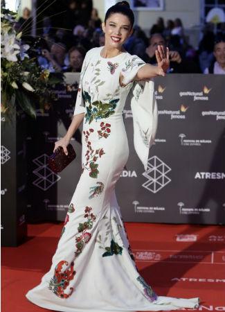 Juana Acosta en el festival de cine de Málaga. G3online