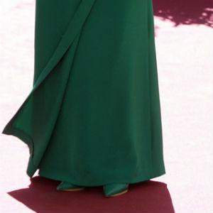 Vestido madrina verde botella