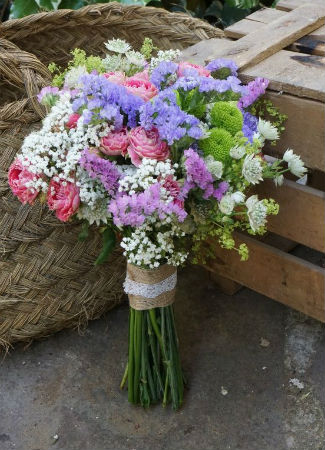 Los tipos de flores y ramos de novias que m s se llevan - Ramos de calas para novias ...