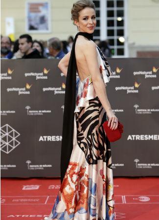 SIlvia Abascal en el festival de Málaga 2016. G3online