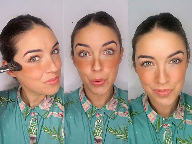 Maquillaje «stripping» o como simular un bronceado realista