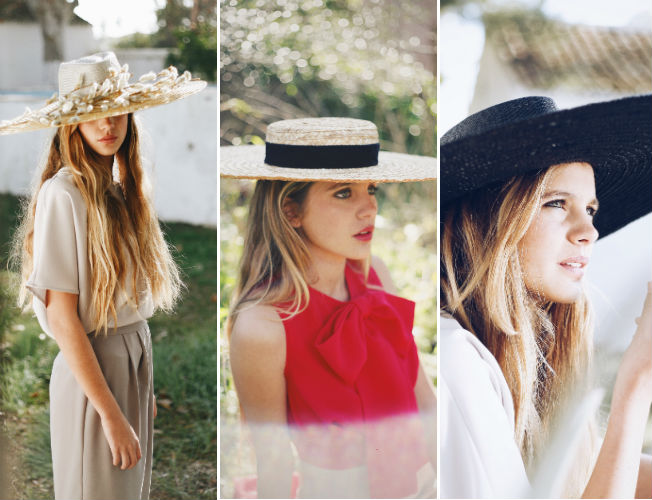 Propuestas de sombreros y tocados de Cherubina para la primavera-verano 2016