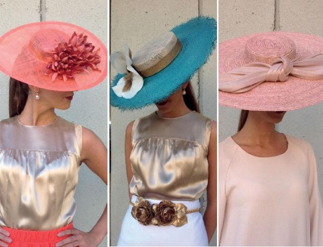 Propuestas de sombreros y tocados de Dmaniq para la primavera-verano 2016