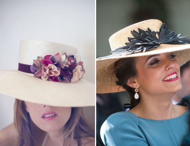 Propuestas de sombreros y tocados de Nana Golmar para la primavera-verano 2016