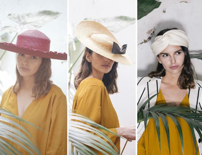 Propuestas de sombreros y tocados de Patricia Buffuna para la primavera-verano 2016