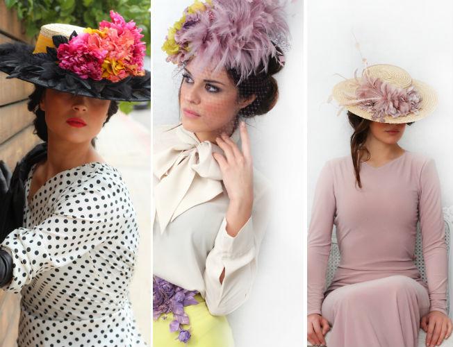 Propuestas de sombreros y tocados de Que se note para la primavera-verano 2016