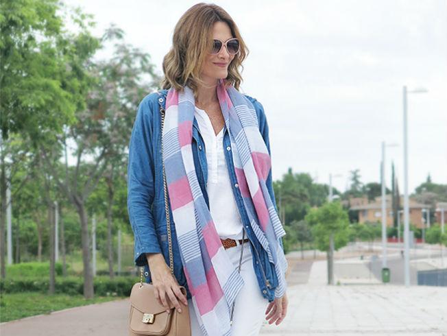 Moda prendas denim. Blog Con paso Chic