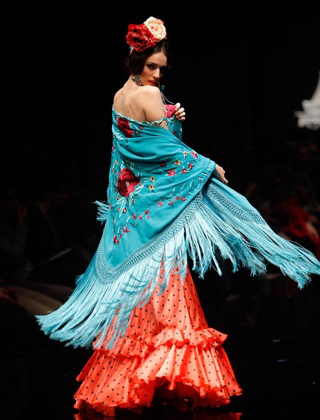 Desfile de Flamencas en Simof 2016