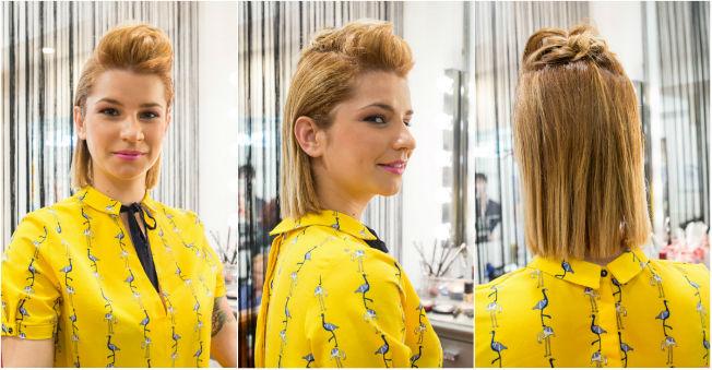 Peinados recogidos con estilo