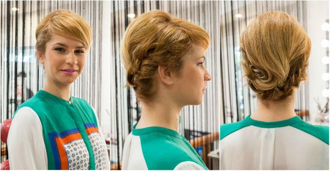 recogidos especiales con cabello corto adonay sevilla en juan delgado peluqueras foto laura with como hacer peinados con pelo corto